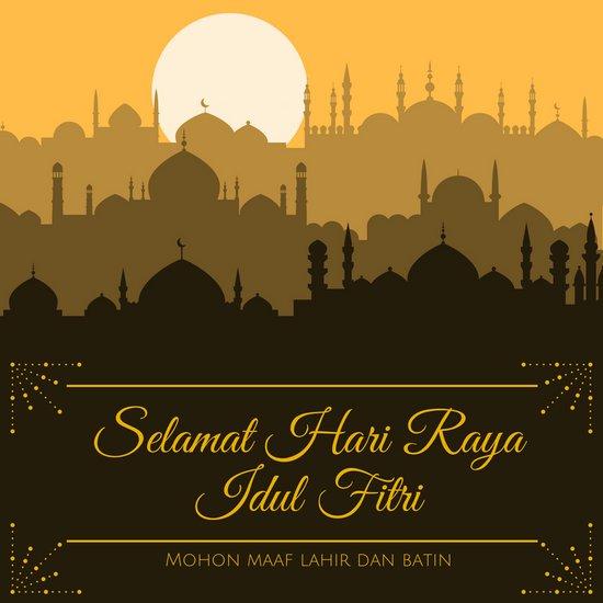 Hari Raya Idul Fitri Mesiu Media Ekspresi Sastra Indonesia